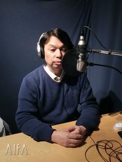 福岡和昭の風水談話 第90回放送 収録後写真
