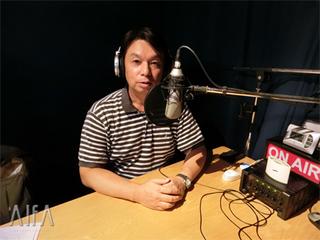 福岡和昭の風水談話 第100回放送 収録後写真