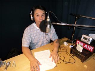 福岡和昭の風水談話 第98-99回放送 収録後写真