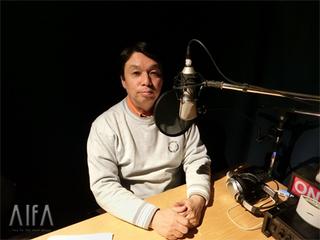 福岡和昭の風水談話 第93回放送 収録後写真