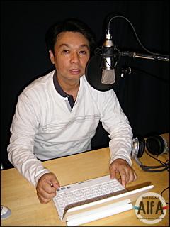 福岡和昭の正しい風水婚活 第6回放送 収録後写真