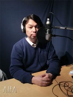 福岡和昭の風水談話 第91回放送 収録後写真