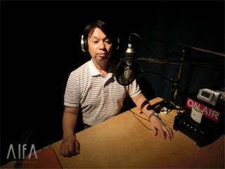 福岡和昭の風水談話 第96回放送 収録後写真