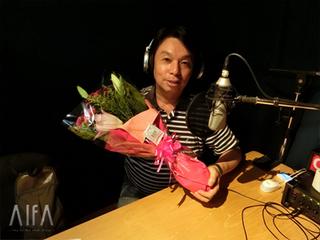 福岡和昭の風水談話 第101回放送(最終回) 収録後写真