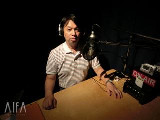 福岡和昭の風水談話 第97回放送 収録後写真